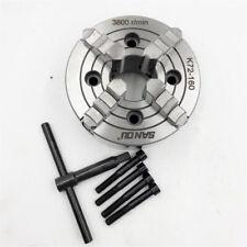 6 Metal Lathe Chuck 160mm 4jaw Independent Reversible Cnc Metal Lathe Milling