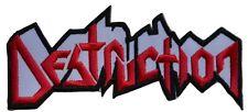 DESTRUCTION - Logo Cut-Out - 12,2 cm x 5,8 cm - Patch - 166577