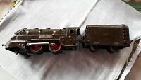 JEP 180/35 - Locomotive vapeur carénée SNCF avec tender, electrique