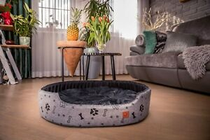 GagaDumi Foxi soft bed with a pillow for dogs and cats