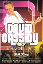 DAVID CASSIDY Partridge Family  Last Concert Ever Handbill Mini-Poster  NYC
