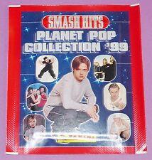 POCHETTE NEUVE PANINI SMASH HITS PLANET POP 1998 FRANCE COLL. '99 BUSTINA PACKET