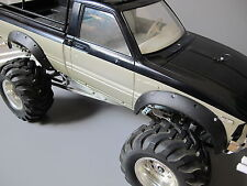 Rubber Fender Flares Set Tamiya RC 1/10 Toyota Pick-Up Bruiser Hilux Mountaineer