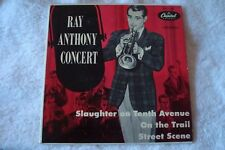 CAPITOL 45 RPM EP EAP 1-406 RAY ANTHONY CONCERT SLAUGHTER ON TENTH AVENUE VG+