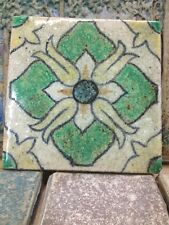 Original Old Antique Spanish Tile AET Batchelder Catalina Era Big 6x6""