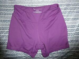Tek Gear yoga shorts purple xs