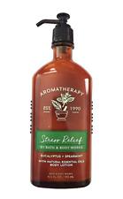 Bath & Body Works Aromatherapy Stress Relief - Eucalyptus/Spearmint Body Lotion