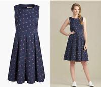 ex Seasalt Kleid - Seasalt Anker Aufdruck Merthen Kleid