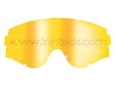 LENTE ORO A SPECCHIO MIRROR GOLD COMPATIBILE OAKLEY AIRBRAKE INNTECK LEN10002