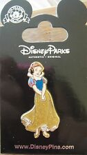 Disney Princess Snow White Glitter Dress Pin-Snow White + the Dwarfs New on Card