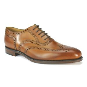 LOAKE BUCKINGHAM MENS LACE UP SMART FORMAL DRESS LEATHER OXFORD BROGUE SHOES