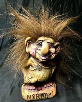Original Norwegian Tusse Norsk Troll Big Nyform Troll Doll w/ Norway & Lady Bug