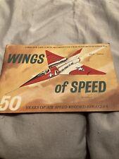 Vintage Lyons Tea Card Album Wings Of Speed 1960s Complete