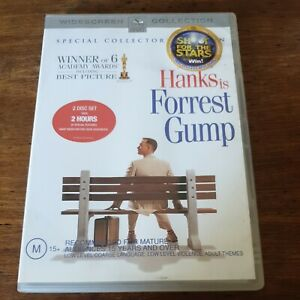 Forrest Gump DVD Special Collectors Edition R4 Like New! FREE POST