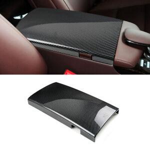 For 08-12 Mercedes Benz S Class W221 Carbon Texture Console Armrest Box 1*Cover