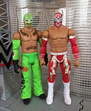 WWE - Mattel - Sin Cara & Rey Mysterio Wrestling Figures