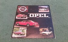 1976 OPEL RANGE Kadett Ascona Manta Rekord Commodore UK BROCHURE Late 1975