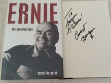 Ernest Borgnine SIGNED Autobio Tracy Monty Clift Merman Lancaster Davis  HC/DJ