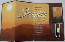 Serenity Book Mark with card and envelope lovely giftfor someone special