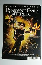 RESIDENT EVIL AFTERLIFE MILLA JOVOVICH ART MINI POSTER BACKER CARD (NOT a movie)