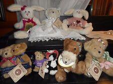 BOYDS BEAR Bears LOT Country Hutch Shelf