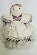 Handmade Primitive Cat Kitten Cloth Rag Doll Home Country Farm Cottage Decor