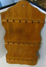Wooden Spoon Rack - Holds 18 Spoons - Size 19 X 10