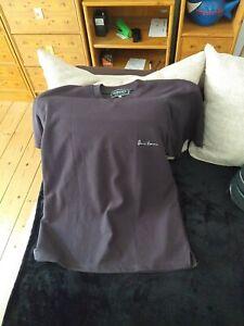 Versace Herren Poloshirt/ Shirt Schwarz Kurzarm Gr.L