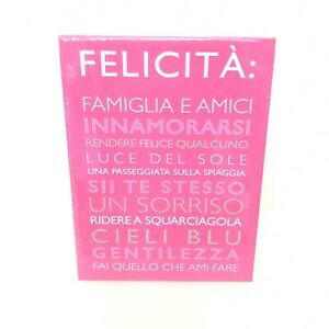 Painting Canvas Wall Art Picture Print Living Room Quotes Family Spanish Pink
