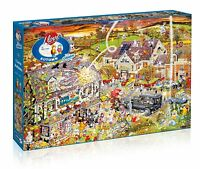 GIBSONS I LOVE AUTUMN BY MIKE JUPP 1000 PIECE THE FALL JIGSAW PUZZLE - NEW GIFT
