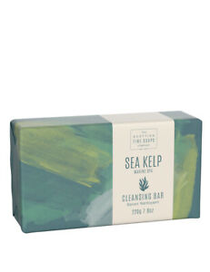 The Scottish Fine Soaps Sea Kelp Marine Spa Hand Body Cleansing Soap Bar 220g