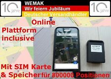 Coban TRACKER GPS tk102b 2 v6 GSM GPRS Localizzazione monitoraggio spionaggio localizzatore
