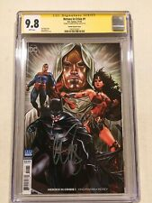HEROES IN CRISIS #1 CGC SS 9.8 VARIANT COVER SIGNED BY MARK BROOKS