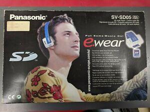 Panasonic Headphones E.Wear Sd Audio Play SV-SD05