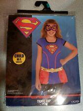 Dc Superhero Girls Supergirl Costume Halloween Child's Size M/L Shirt Tunic Top