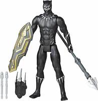 "Marvel Titan Hero Series Blast Gear Deluxe Black Panther Action Figure, 12"" Toy"