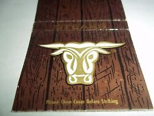 "Vtg. Matchbook Cover - Golden Ox Steaks - 2"" by 4 1/2"""