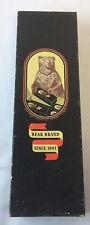 vintage Bear Brand hosiery box ~ 14x4x3 inches