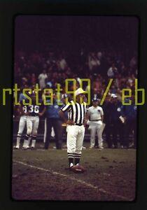 1970s Minnesota Vikings vs. New York Giants - Vintage NFL Football 35mm Slide