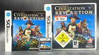 Spiel: CIVILIZATION REVOLUTION für den Nintendo DS + Lite + Dsi + XL + 3DS 2DS