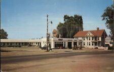Culpeper VA Motor Court Gulf Gas Station & Garage Postcard