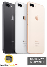 Apple iPhone 8 Plus 64GB & 256GB LTE iOS Smartphone Unlocked All 3 Colours