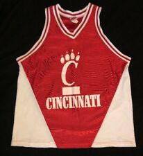 vintage cincinnati bearcats tank top basketball jersey style mens large