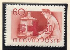 Hungary 1957 Early Red Cross Issue Fine Mint Hinged 60f. 149668