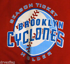 Brooklyn Cyclones Season Ticket Holder Heavy Sweat NEW MINT w Tags RARE