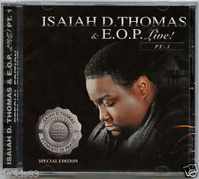 Live, Pt. 1 by Isaiah D. Thomas (CD, Sep-2007 CBUJ Distribution)