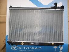 Radiator Nissan Skyline V35 Import Auto Man 2001-2007 Pin Fan Mounts Koyo New