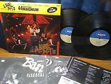 44 Magnum-Live Act II  Rare Japan 2LP w/OBI