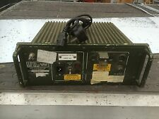 CLANSMAN MILITARY GRADE USED 10A MAINS ADAPTOR 110/240AC TO 24/12V TESTED & VGC
