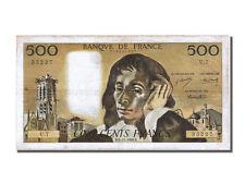 Billets de la banque française pascaux
